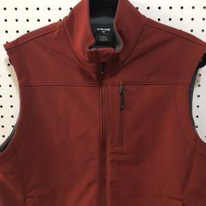 Brick color Solaris vest size Medium